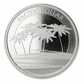 1 Unze Silber  Pacific Dollar  Fiji 2018