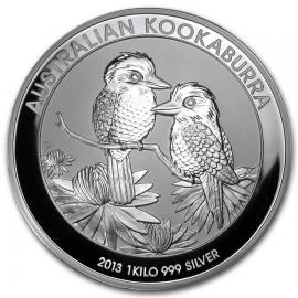 1 kg  Silber Australien Kookaburra 2013