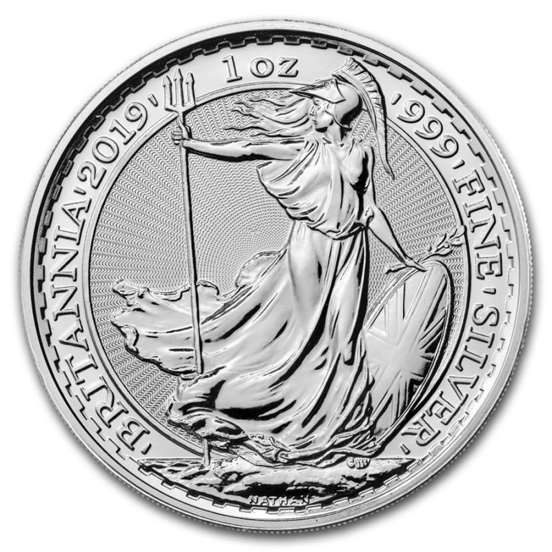 1 Unze Silber Britannia UK 2019