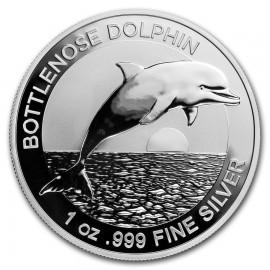 1 Unze Silber Delfin 2019