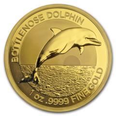 1 oz Unze Gold  Delfin Dolphin 2019