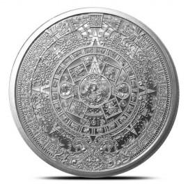 1 Unze Silber  Aztekenkalender  The Aztec Calender