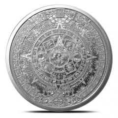 1 Unze Silber  Aztekenkalender  The Aztec Calendar