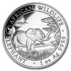 1 Unze Silber Somalia Elefant 2019 Privy Pig
