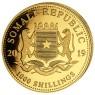 1 oz Somalia Elefant Gold 2019 Privy Pig