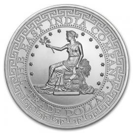 1 Unze Silber St. Helena British Trade Dollar 2018
