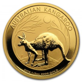 1/2 oz Gold Australian Känguru Nugget 2016