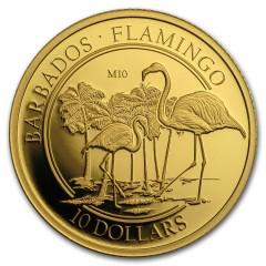 1/10 Unze oz Gold Flamingo PP Privy M10