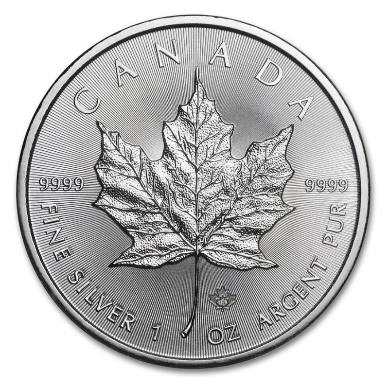 1 Unze Silber Maple Leaf diverse Jahrgänge