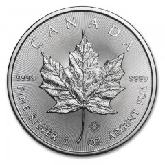 1 Unze Silber Maple Leaf 2015