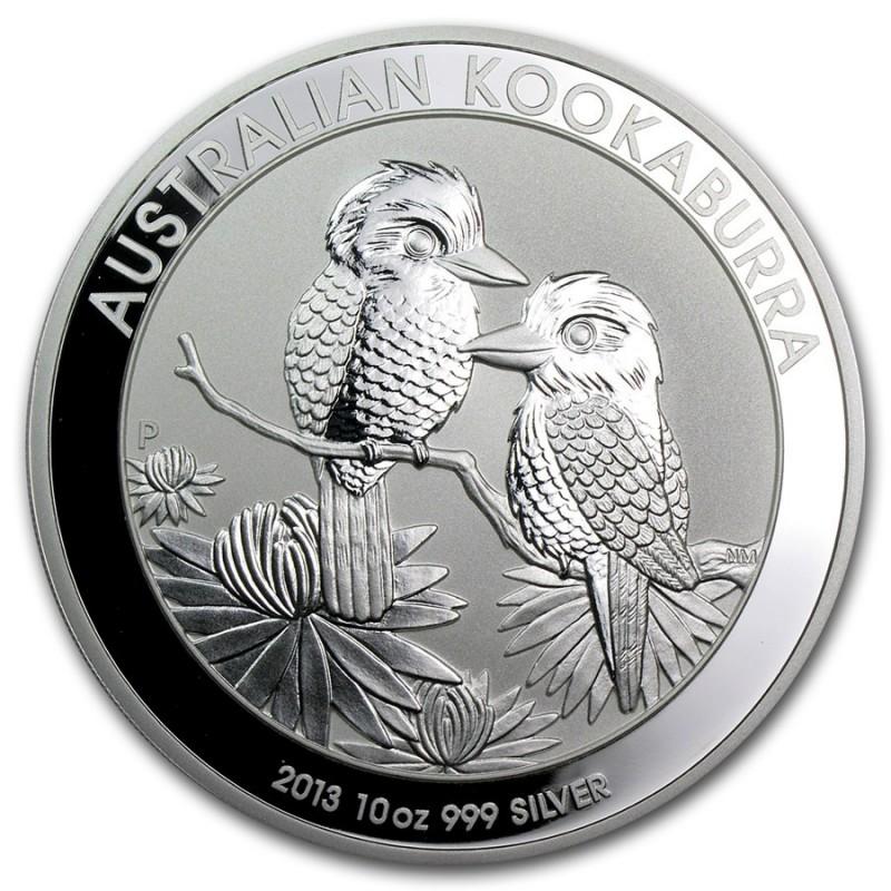 10 Unzen Silber Australien Kookaburra 2013