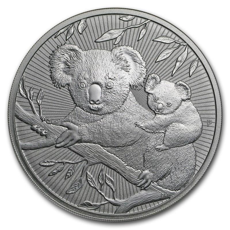 10 Unzen Silber   Piedfort 'Next Generation Series' Koala 2018