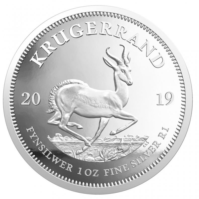 1 Unze Silber Krügerrand 2019   PP