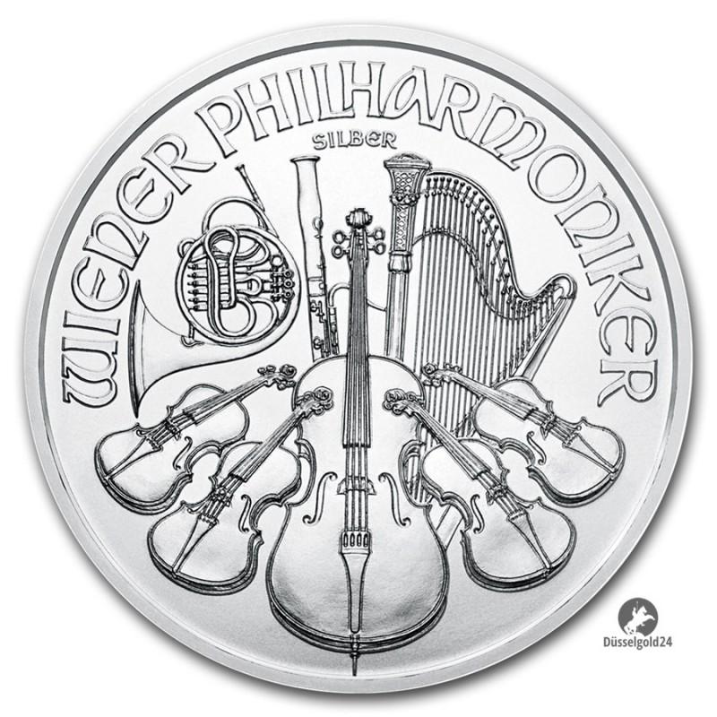 1 Unze Wiener Philharmoniker  2018