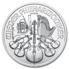 1 Unze Silber Wiener Philharmoniker 2019