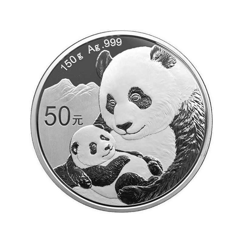 150 g Silber China Panda 2018 PP