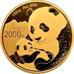 150 Gramm China Panda Goldmünze 2019 BOX