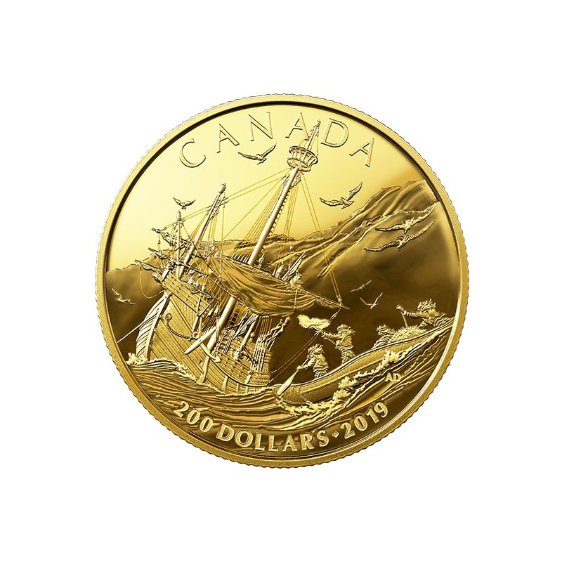 1/2 oz Gold  Canada  2019 PP
