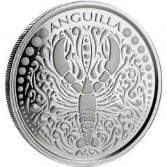 1 Unze Silber 2018 Anguilla Lobster