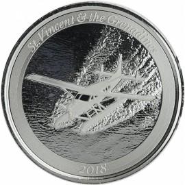 1 Unze Silber 2018 St Vincent Wasserflugzeug
