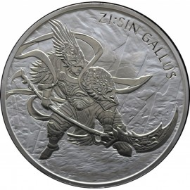 10 oz Unze  Silber Südkorea South Korea Chiwoo Cheonwang 2018 10 Clay
