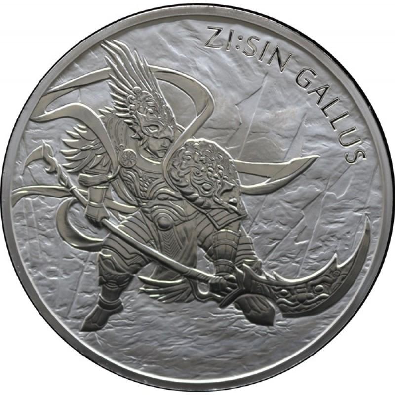10 oz Unze  Silber Südkorea South Korea Chiwoo Cheonwang 2018 10 Clay