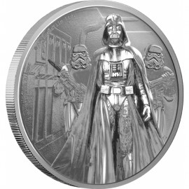 1 Unzen Silber Darth Vader Star War Nieu