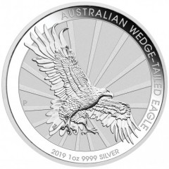 1 Unze Silber Wedge-Tailed Eagle 2019