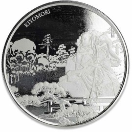 1 Unze Silber Samurai Archives 2018 BU