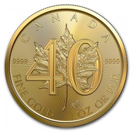 1 OZ Gold Maple Leaf 2019