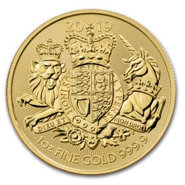 1 Unze oz Gold 2019 Royal Arms of Britain