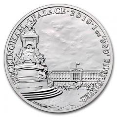 1 Unze Silber Buckingham Palast  UK 2019