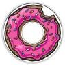 1 Unze Silber Donut  Die Simpson PP