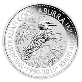 1 kg Silber Australien Kookaburra 2015