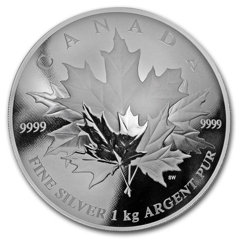 1 Unze Silber Canada 2012 Dragon 1 kg