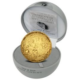 1 Unze Gold 50 Jahre Mondlandung 2019 PP 5000  Francs CFA