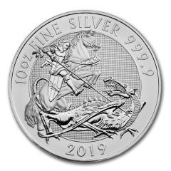10 Unzen Silber Valiant 2019 Großbritannien BU