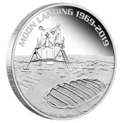 1 Unze Silber 50 Jahre Mondlandung 2019 PP Perth Mint