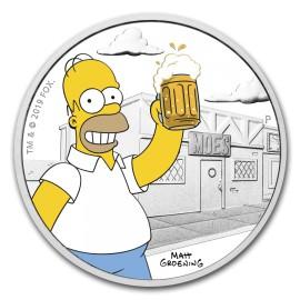 1 Unze Silber Homer Simpson BU
