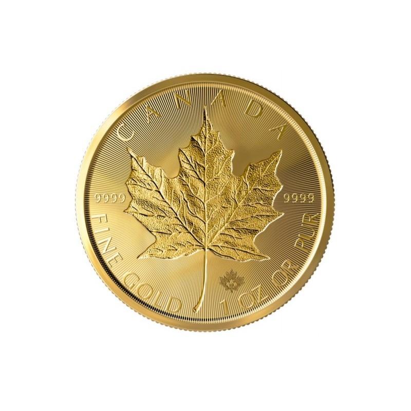 1 Unze Gold Maple Leaf 40 Jahre Sonderedition 2019
