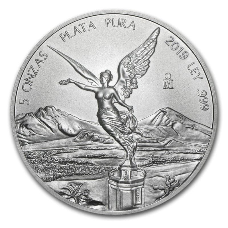 5 oz Silber Mexiko Libertad 2018