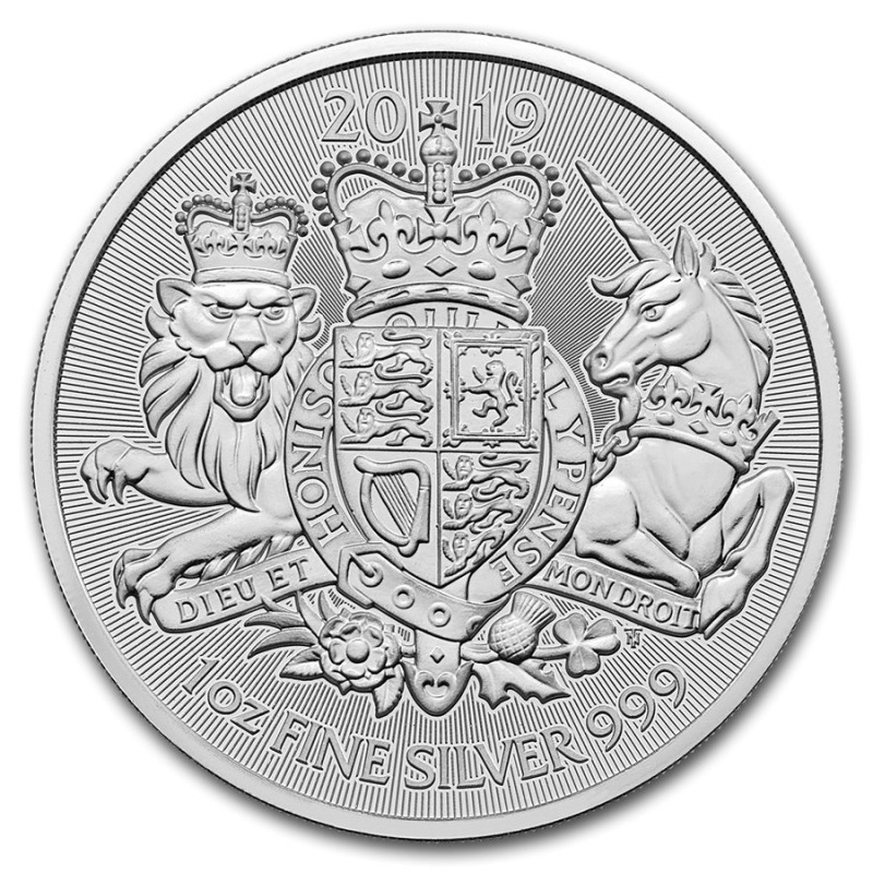 1 Unze oz silber 2019 Royal Arms