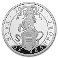 1 Unze Silber Queens Beasts Yale 2019 PP