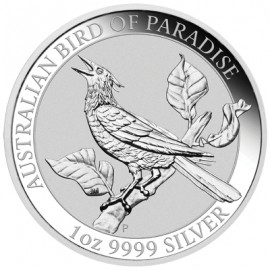 1 Unze Silber Birds of Paradise Perth Mint 2019