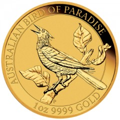 1 oz Unze Gold  Birds of Paradise Perth Mint 2019 Manucodia