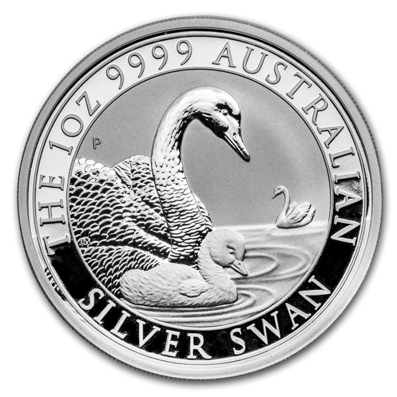 1 Unze Silber Schwan Perth Mint 2018