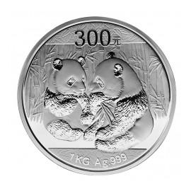 1 kg Kilo Silber China Panda 2009 PP BOX