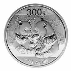 1kg Silber China Panda 2009 PP