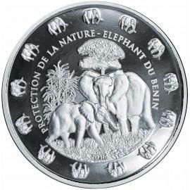 1 Kilo Silber Benin Elefant 2016 PP nur 99 stk. Selten