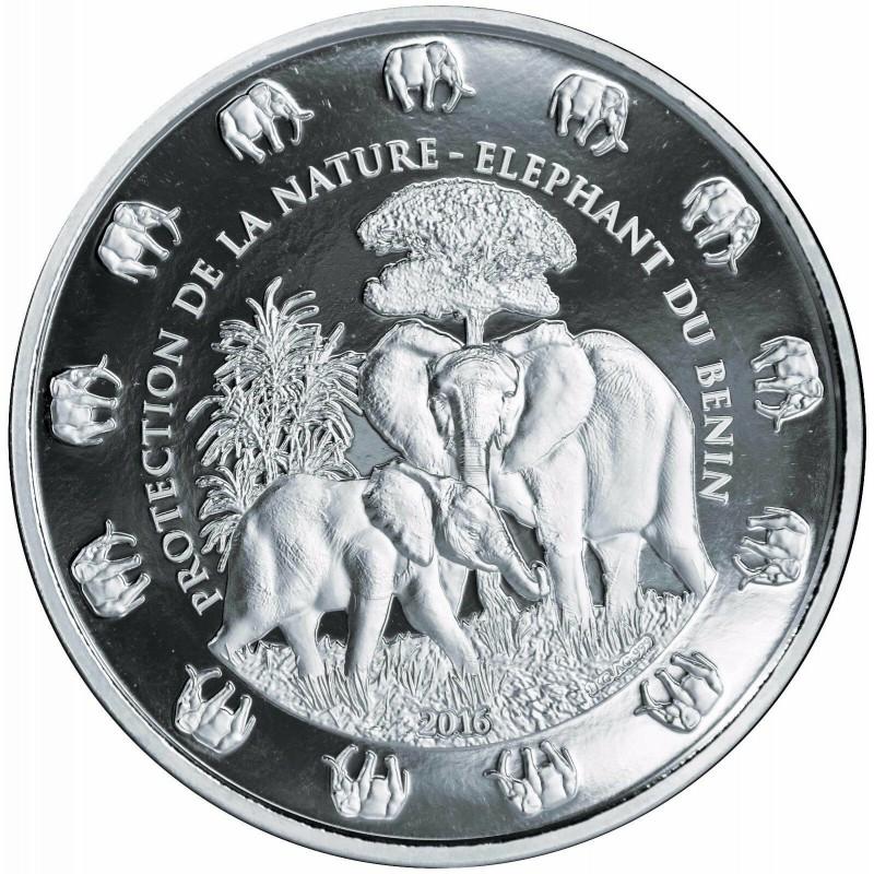 1 Kilo Silver Somalia Elefant 2019